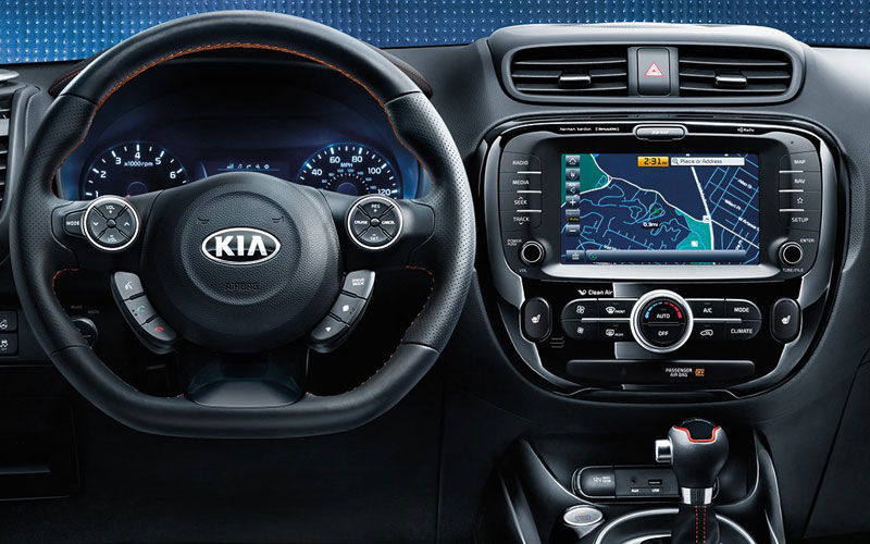 2019 KIA SOUL command center