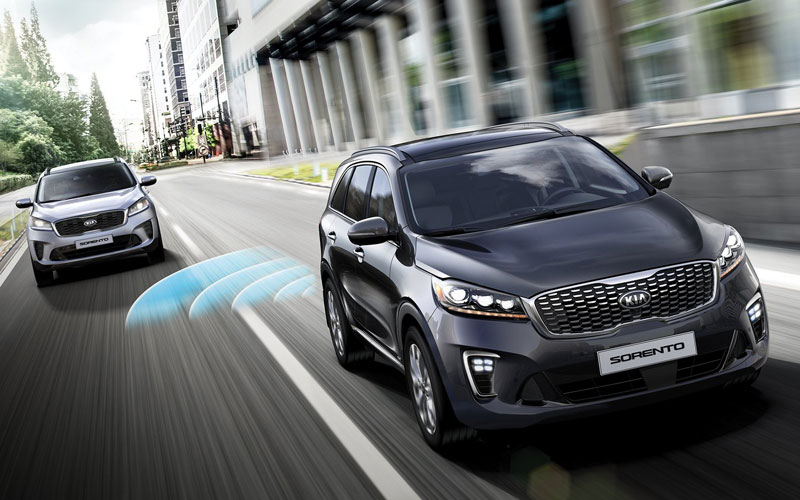 2019 KIA Sorento blindspot awareness