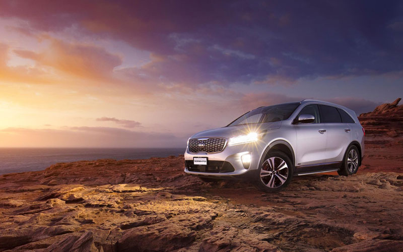 2019 KIA Sorento sunset