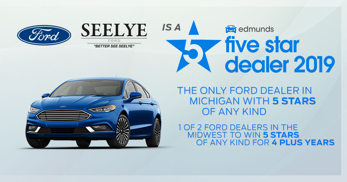 Seelye Ford of Kalamazoo 5-star Edmunds Award