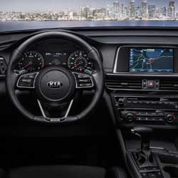 Kia Optima Command Center