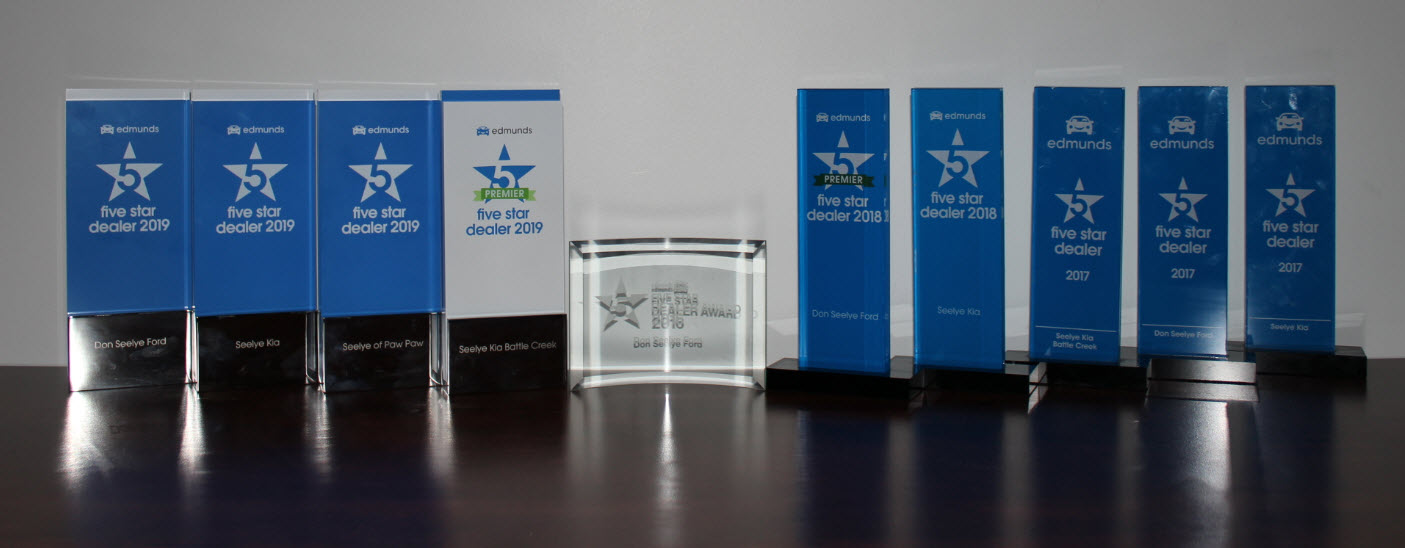 Seelye 5-star Edmunds Awards