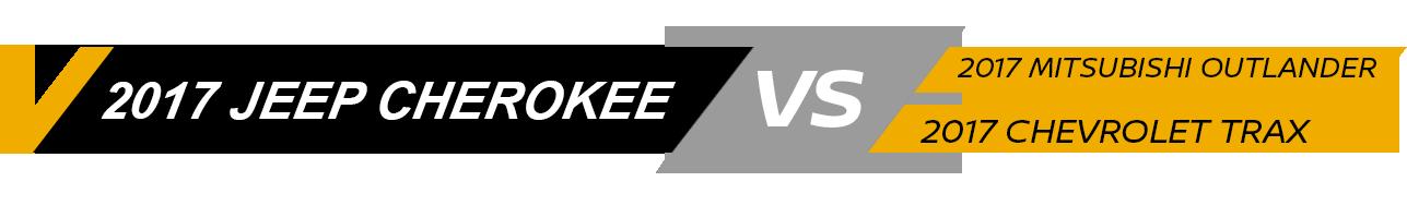 Jeep Cherokee Vehicle Comparison
