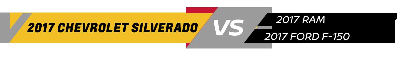 2017 Silverado Vehicle Comparison