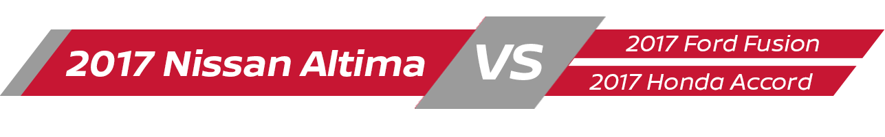 Nissan Altima Vehicle Comparison